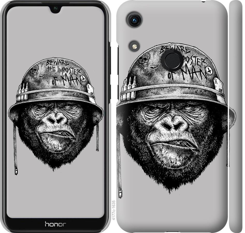 Чехол на Huawei Honor 8A military monkey