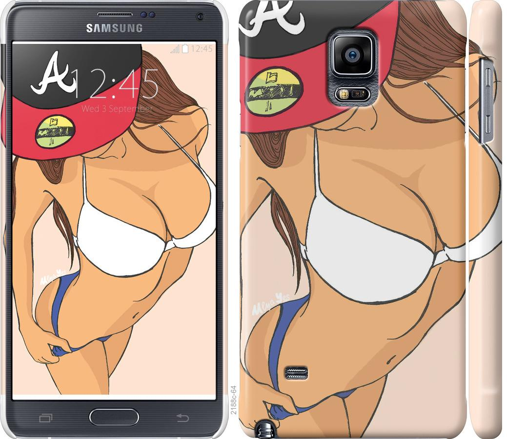 Чехол на Samsung Galaxy Note 4 N910H sexy girl