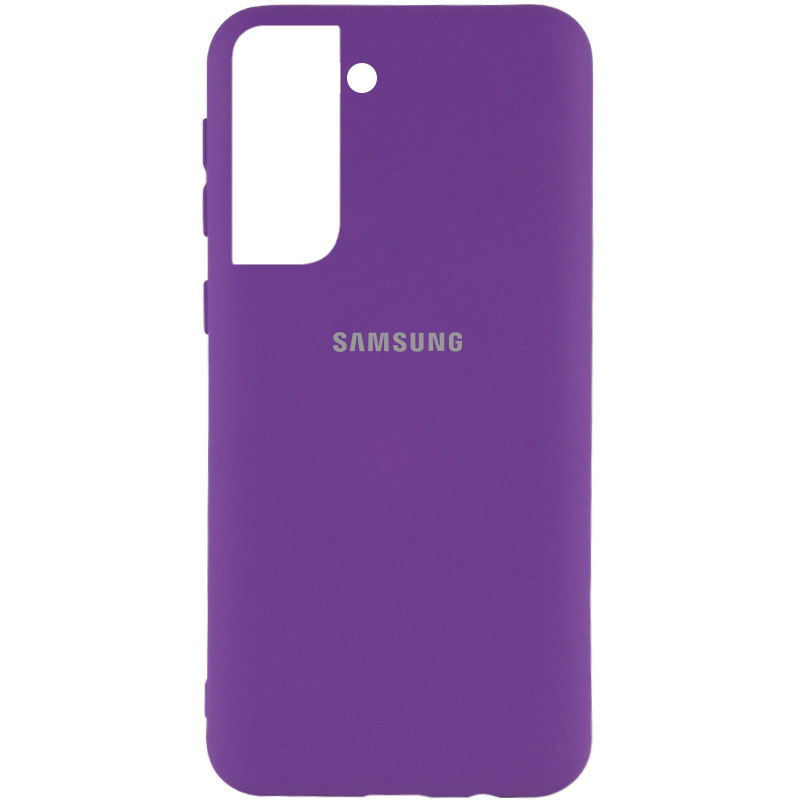 Чехол Silicone Cover My Color Full Protective (A) для Samsung Galaxy S21+