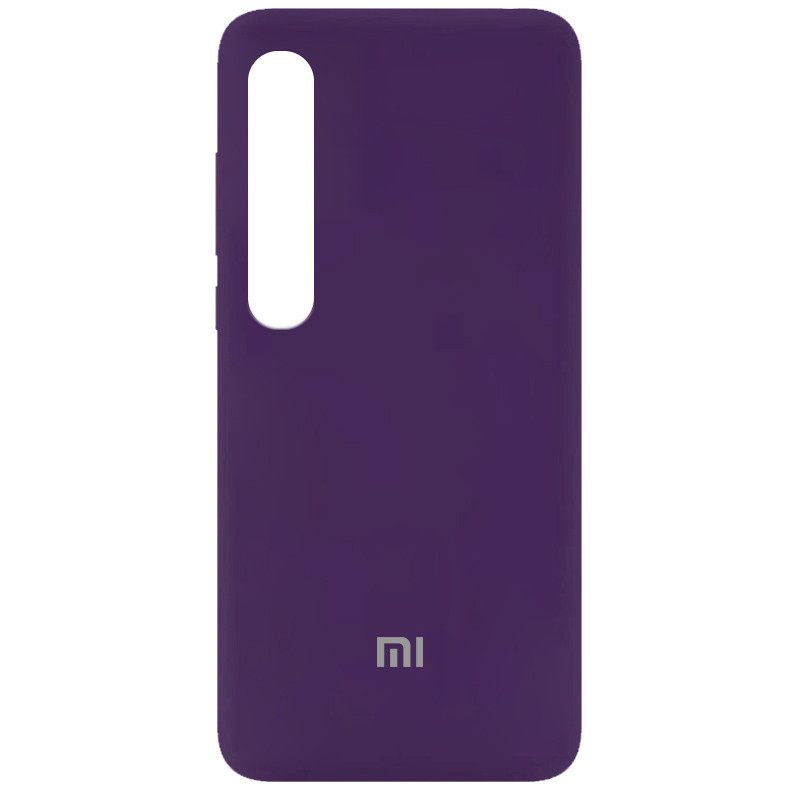 Чехол Silicone Cover My Color Full Protective (A) для Xiaomi Mi 10 / Mi 10 Pro (Фиолетовый / Purple)