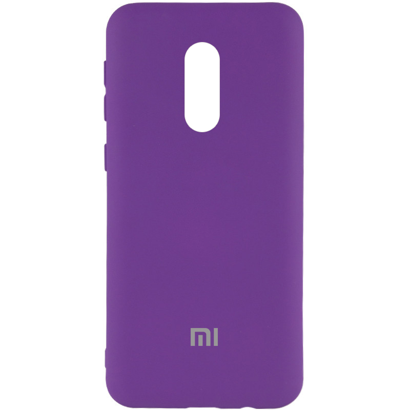 Чехол Silicone Cover My Color Full Protective (A) для Xiaomi Redmi Note 4X (Фиолетовый / Purple)