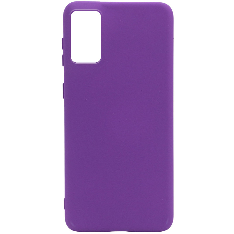 Чехол Silicone Cover Full without Logo (A) для Xiaomi Redmi Note 9 4G / Redmi 9 Power / Redmi 9T (Фиолетовый / Purple)