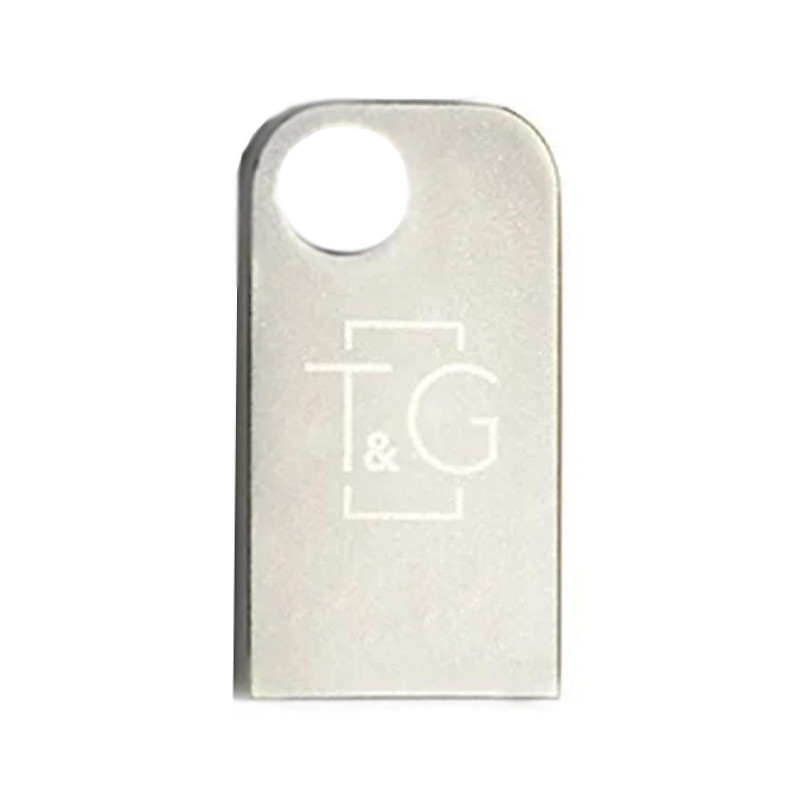 Флеш-драйв USB Flash Drive T&G 112 Metal Series 64GB (Черный)