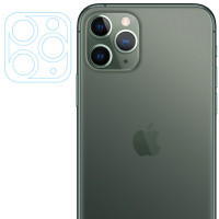 Гибкое защитное стекло 0.18mm на камеру и весь блок (тех.пак) для Apple iPhone 11 Pro / 11 Pro Max