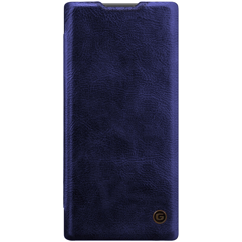 Кожаный чехол книжка G-Case Vintage Business Series для Samsung Galaxy Note 10 Plus