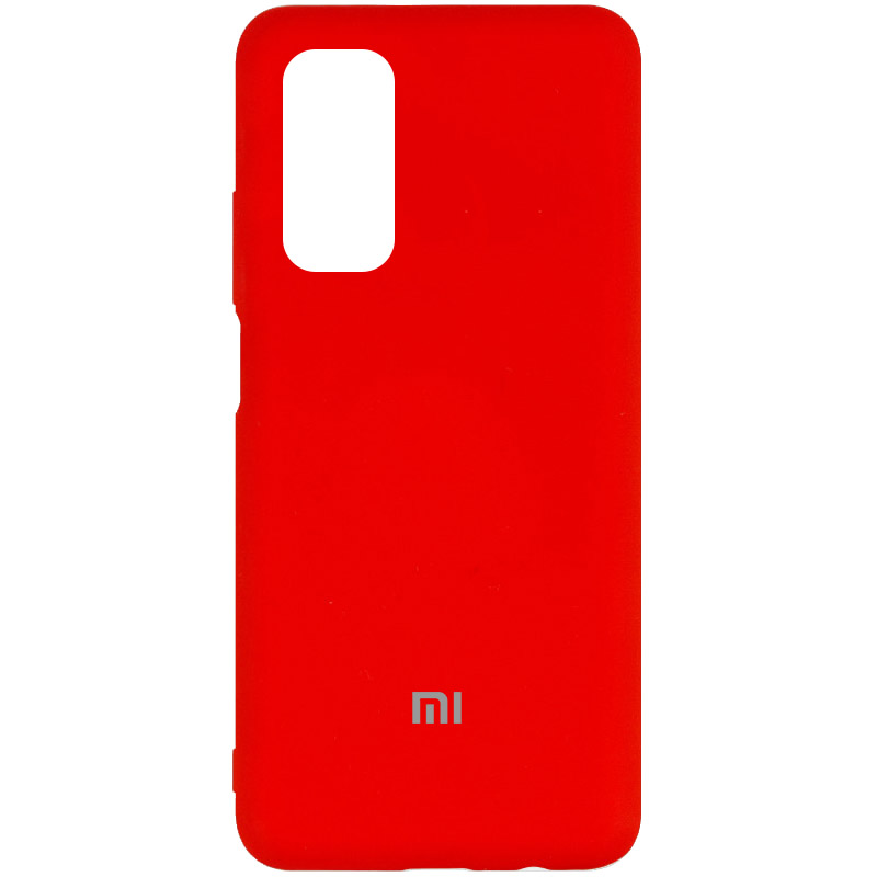 Чехол Silicone Cover My Color Full Protective (A) для Xiaomi Mi 10T Pro (Красный / Red)