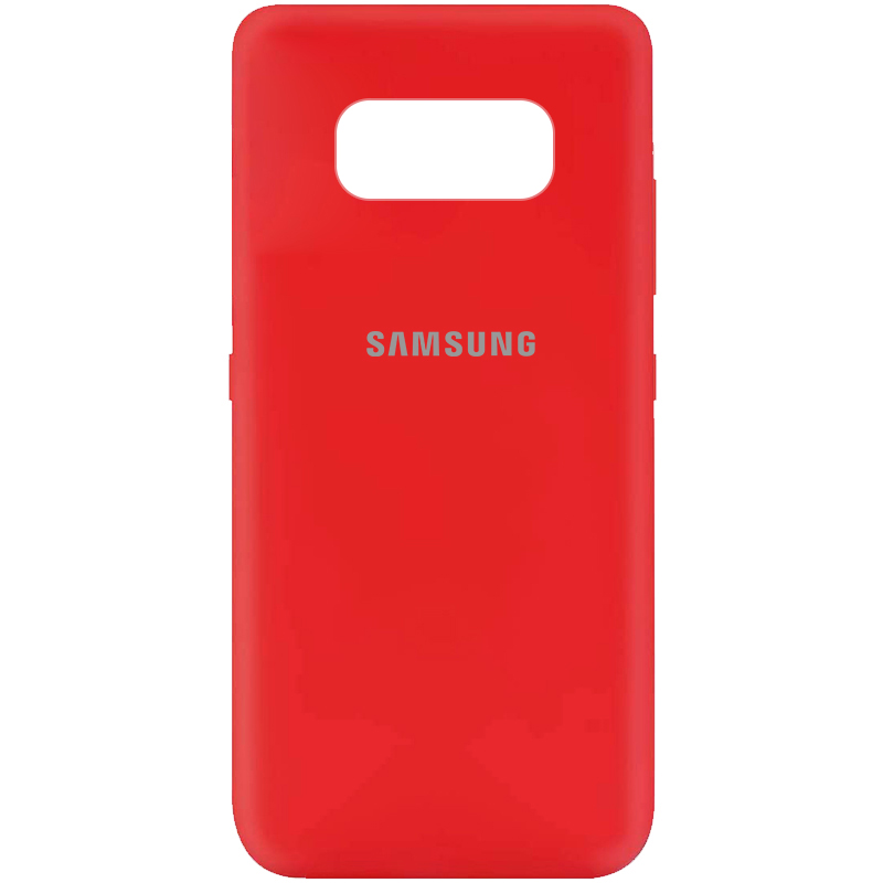 Чехол Silicone Cover My Color Full Protective (A) для Samsung G950 Galaxy S8 (Красный / Red)