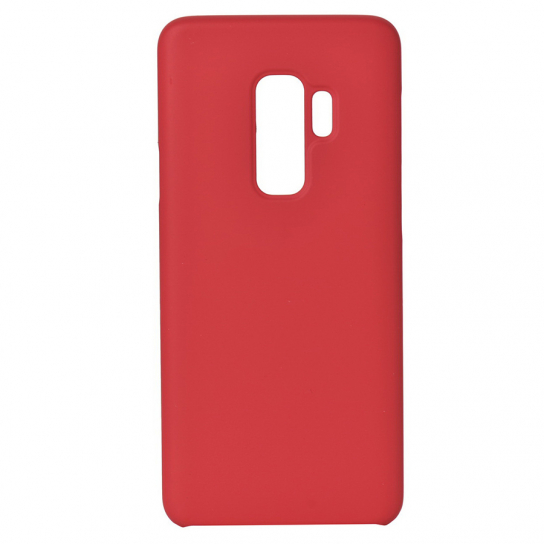Чехол Silicone Cover without Logo (AA) для Samsung Galaxy S9+ (Красный / Red)