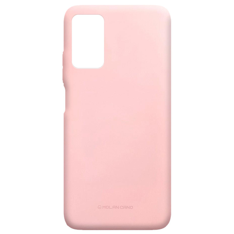 TPU чехол Molan Cano Smooth для Xiaomi Redmi Note 9 4G (Розовый)