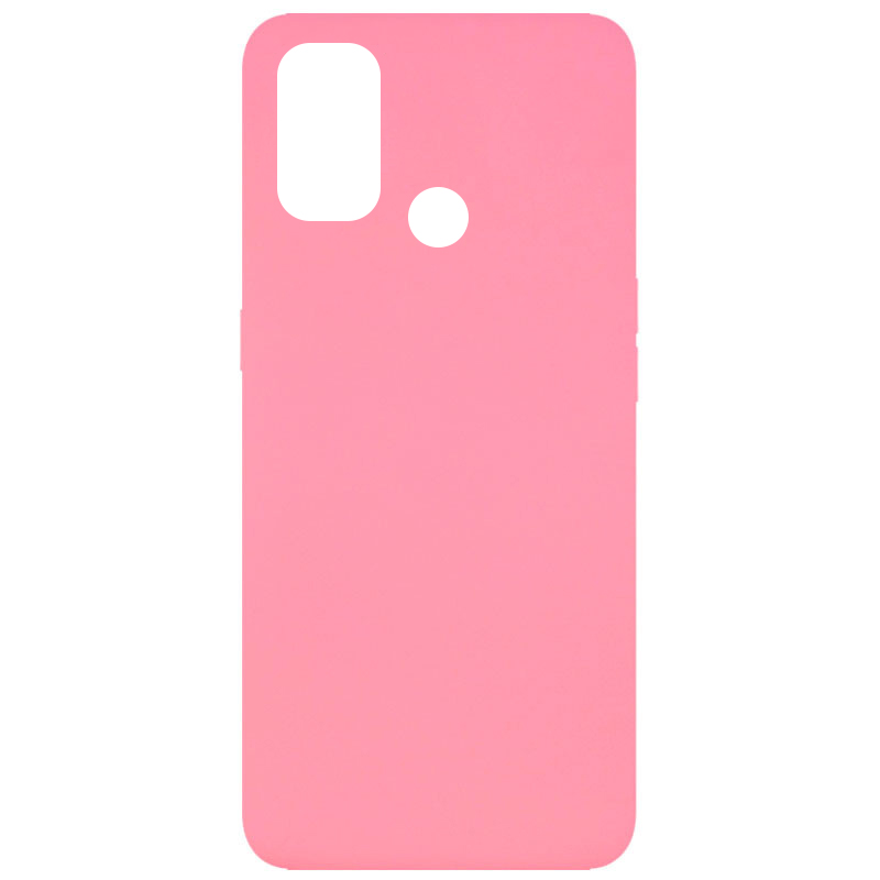Чехол Silicone Cover Full without Logo (A) для Oppo A53 / A32 / A33 (Розовый / Pink)