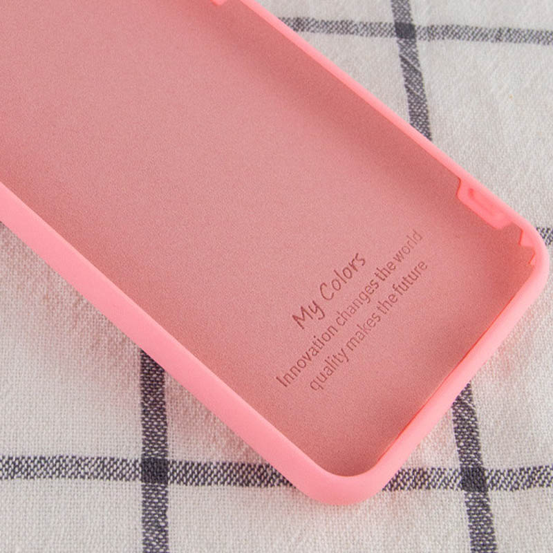 Фото Чехол Silicone Cover Full without Logo (A) для Xiaomi Mi 10T / Mi 10T Pro Розовый / Pink в магазине onecase.com.ua
