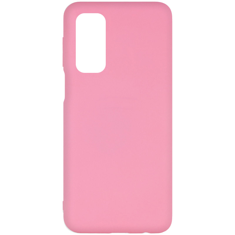Фото Чехол Silicone Cover Full without Logo (A) для Xiaomi Mi 10T / Mi 10T Pro Розовый / Pink на onecase.com.ua