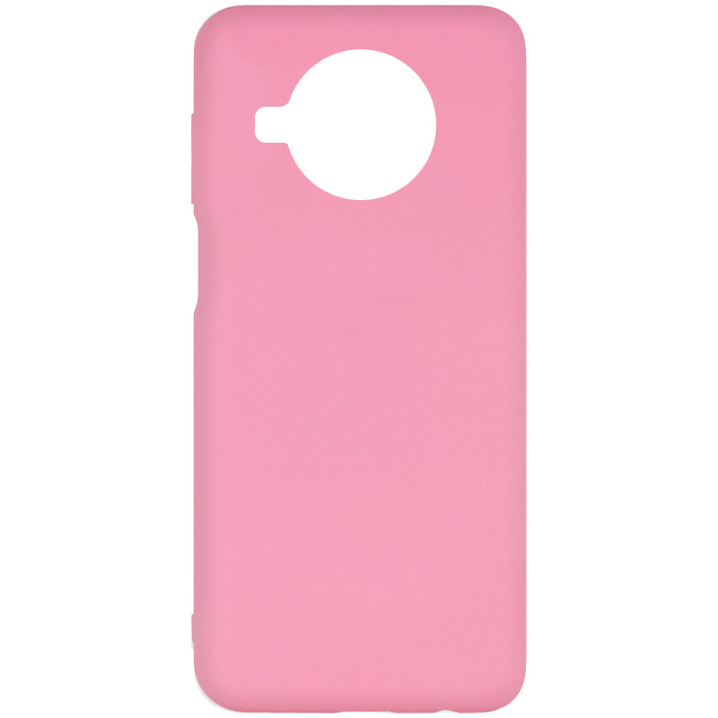 Фото Чехол Silicone Cover Full without Logo (A) для Xiaomi Mi 10T Lite / Redmi Note 9 Pro 5G Розовый / Pink на onecase.com.ua