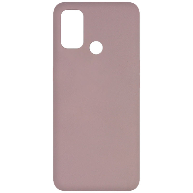 Фото Чехол Silicone Cover Full without Logo (A) для Oppo A53 Розовый / Pink Sand на onecase.com.ua