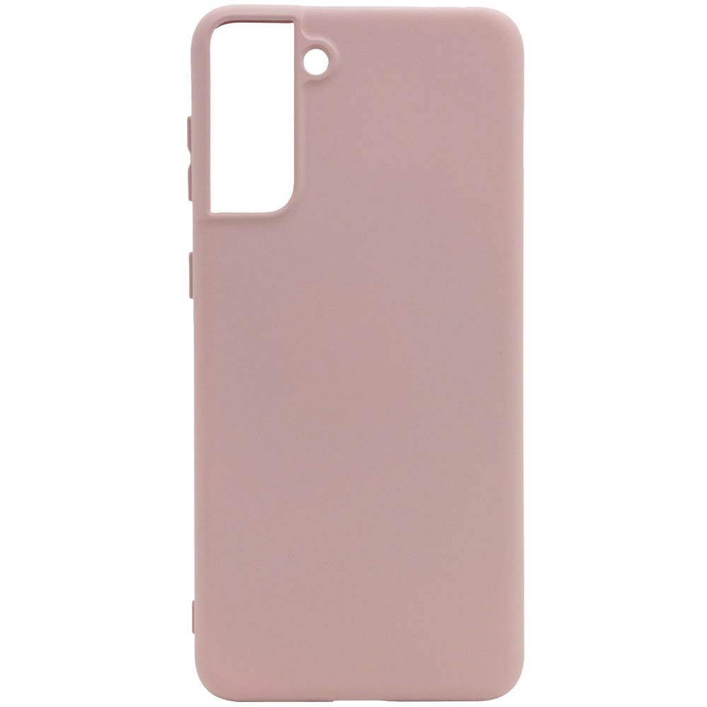 Фото Чехол Silicone Cover Full without Logo (A) для Samsung Galaxy S21+ Розовый / Pink Sand на onecase.com.ua