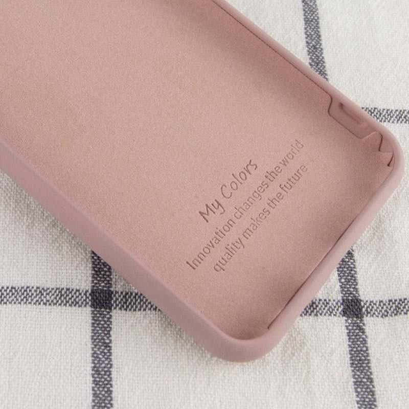 Фото Чехол Silicone Cover Full without Logo (A) для Xiaomi Mi 10T Lite / Redmi Note 9 Pro 5G Розовый / Pink Sand в магазине onecase.com.ua