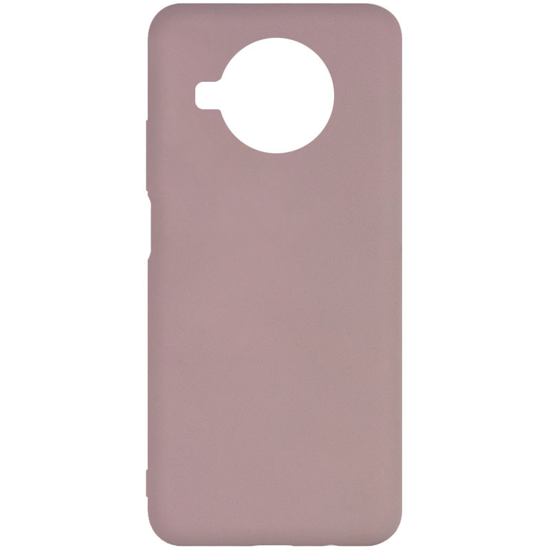 Фото Чехол Silicone Cover Full without Logo (A) для Xiaomi Mi 10T Lite / Redmi Note 9 Pro 5G Розовый / Pink Sand на onecase.com.ua