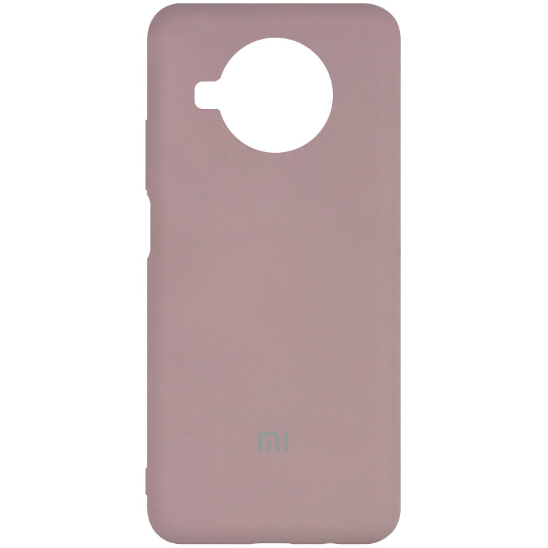 Фото Чехол Silicone Cover My Color Full Protective (A) для Xiaomi Mi 10T Lite / Redmi Note 9 Pro 5G Розовый / Pink Sand на onecase.com.ua