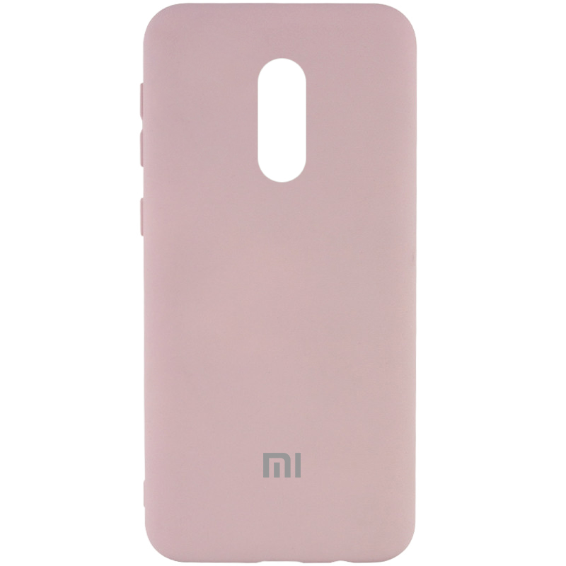 Чехол Silicone Cover My Color Full Protective (A) для Xiaomi Redmi Note 4X (Розовый / Pink Sand)