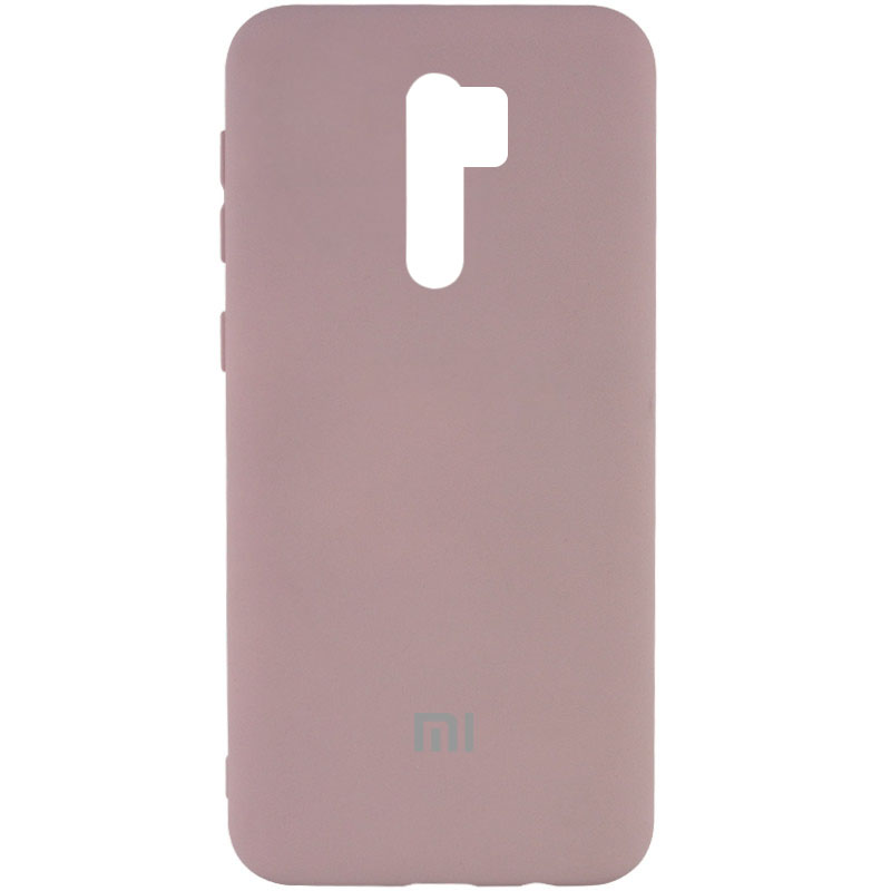 Фото Чехол Silicone Cover My Color Full Protective (A) для Xiaomi Redmi Note 8 Pro Розовый / Pink Sand на onecase.com.ua