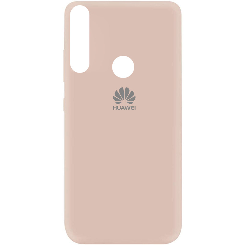 Чехол Silicone Cover My Color Full Protective (A) для Huawei Y9 Prime (2019) (Розовый / Pink Sand)