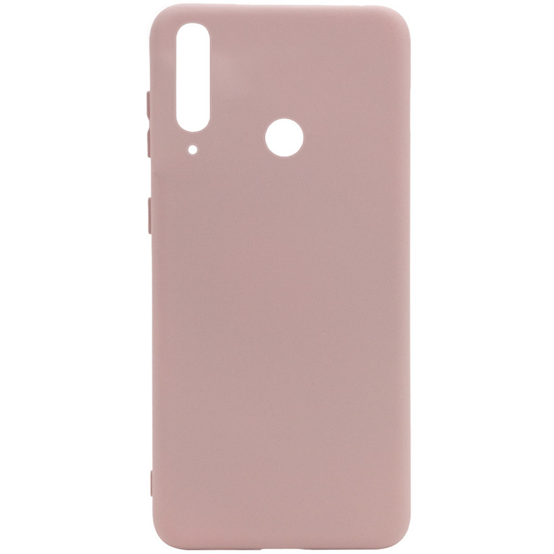 Чехол Silicone Cover Full without Logo (A) для Huawei P40 Lite E / Y7p (2020) (Розовый / Pink Sand)