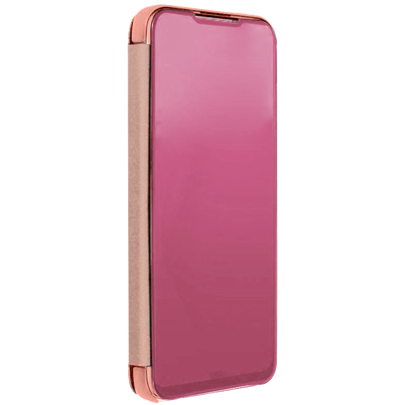Чехол-книжка Clear View Standing Cover для Samsung Galaxy A50s (Rose Gold)