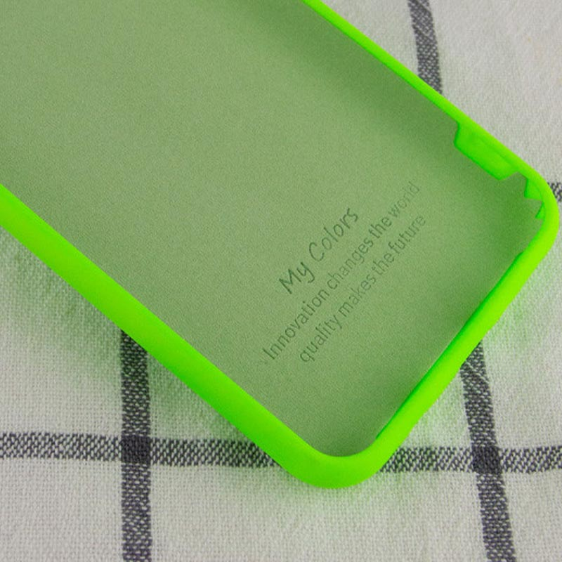 Фото Чехол Silicone Cover My Color Full Protective (A) для Xiaomi Mi 10T Lite / Redmi Note 9 Pro 5G Салатовый / Neon green в магазине onecase.com.ua