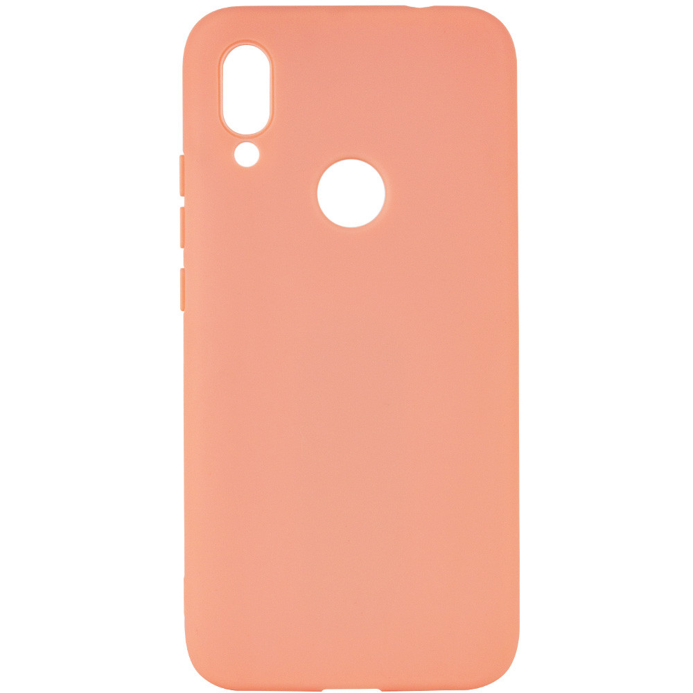 Чехол Silicone Cover with Magnetic для Xiaomi Redmi Note 7s (Розовый)