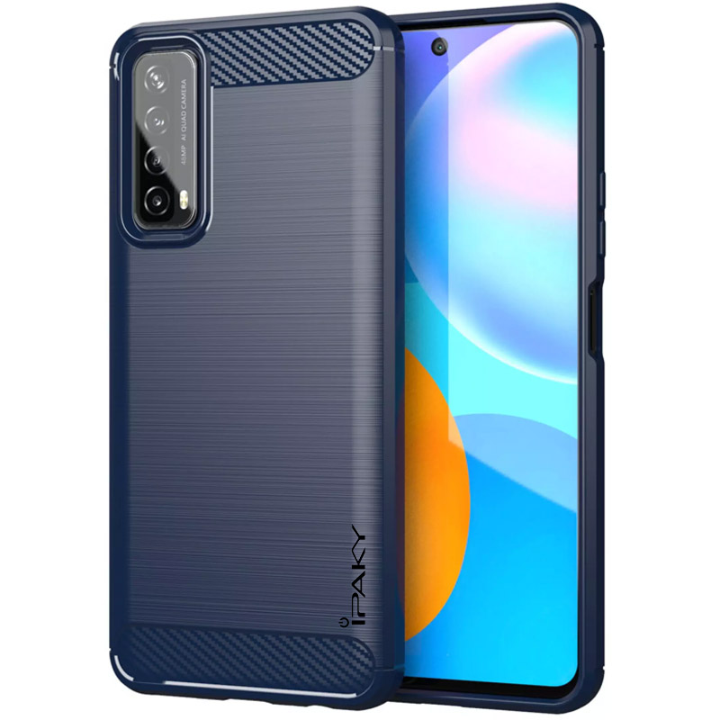TPU чехол iPaky Slim Series для Huawei P Smart (2021) (Синий)