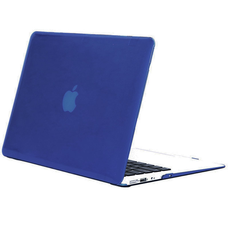 Фото Чехол-накладка Matte Shell для Apple MacBook Air 13 (A1369 / A1466) Синий / Peony blue на onecase.com.ua