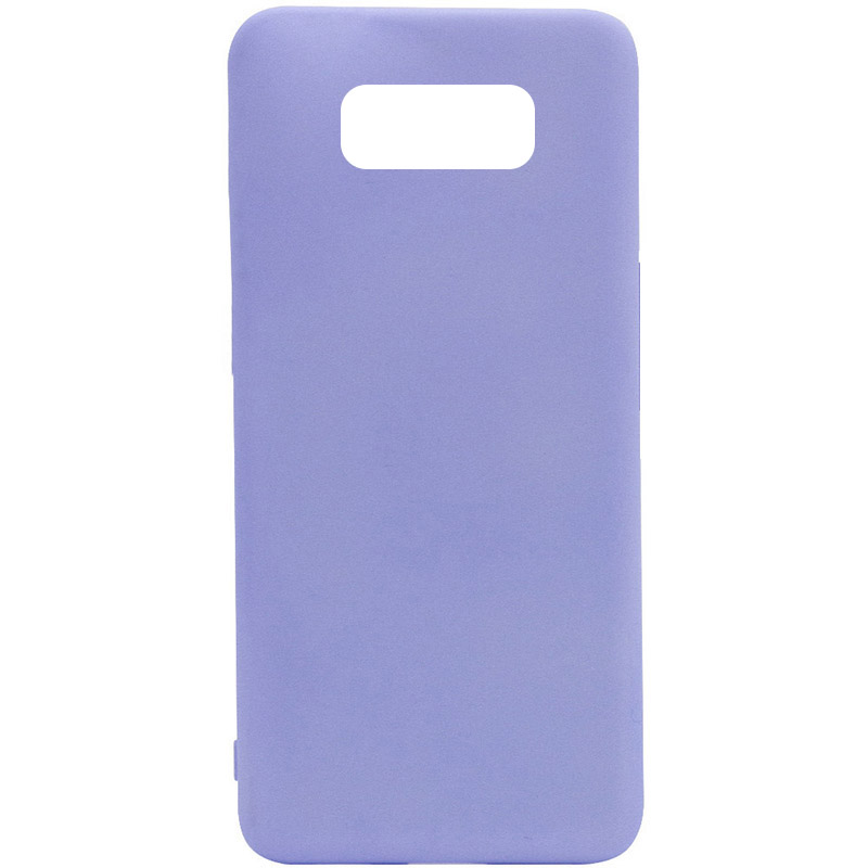 Чехол Silicone Cover Full without Logo (A) для Samsung G950 Galaxy S8 (Сиреневый / Dasheen)