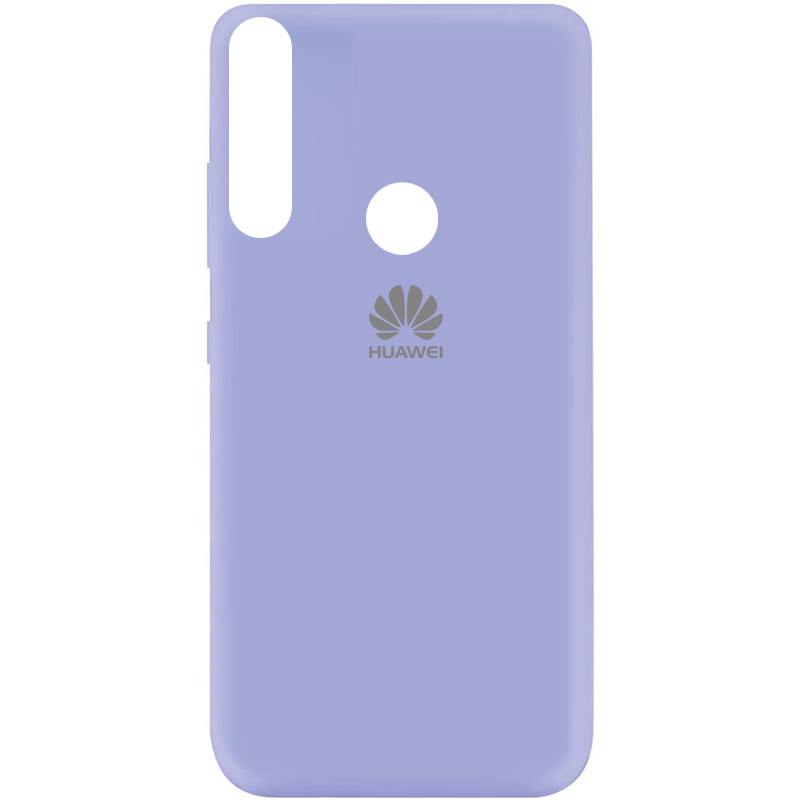 Чехол Silicone Cover My Color Full Protective (A) для Huawei Y9 Prime (2019) (Сиреневый / Dasheen)