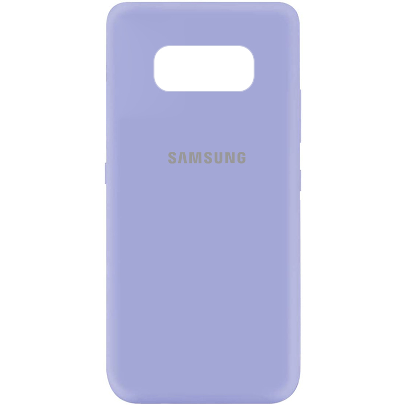 Чехол Silicone Cover My Color Full Protective (A) для Samsung G950 Galaxy S8 (Сиреневый / Dasheen)