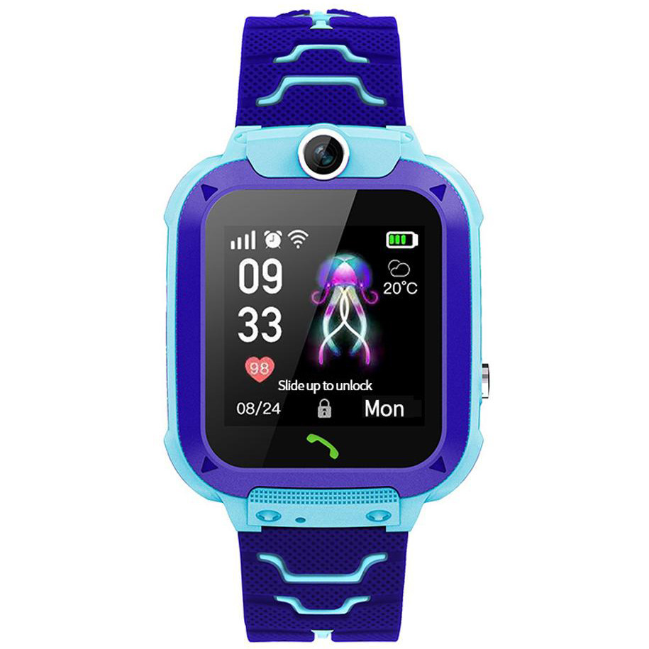 Смарт-часы Smart Baby Watch Q20 Waterproof (Голубой)
