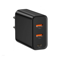 СЗУ Baseus Quick Charger 60W (Type-C + 2USB)