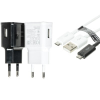 СЗУ Samsung Travel Charger (2A/5W) + кабель USB to microUSB, в упак.