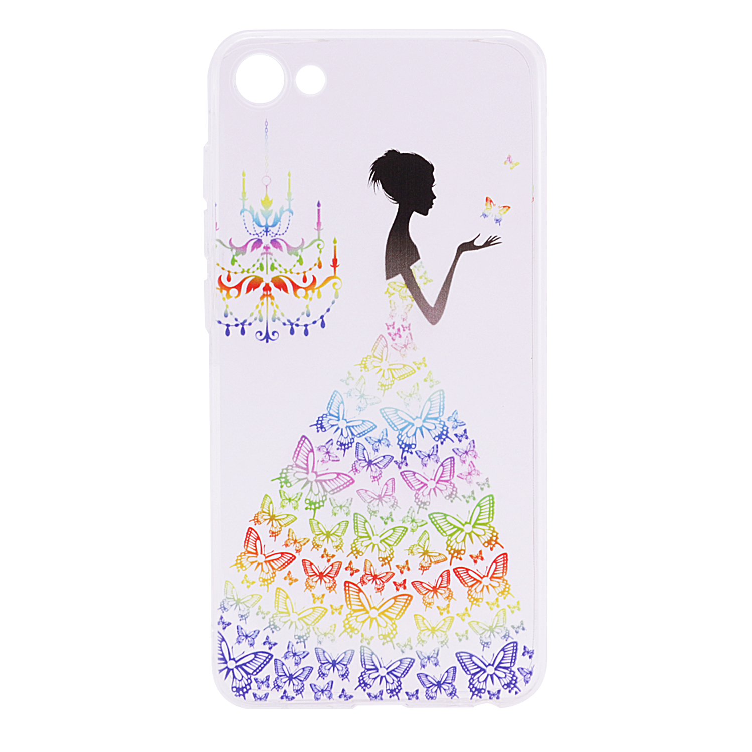 TPU чехол Cute Print для Meizu U20 (Girl (Butterfly dress))