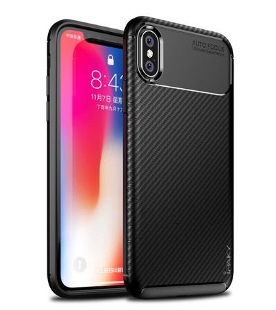 "TPU чехол iPaky Kaisy Series для Apple iPhone XS (5.8"") (Черный)"