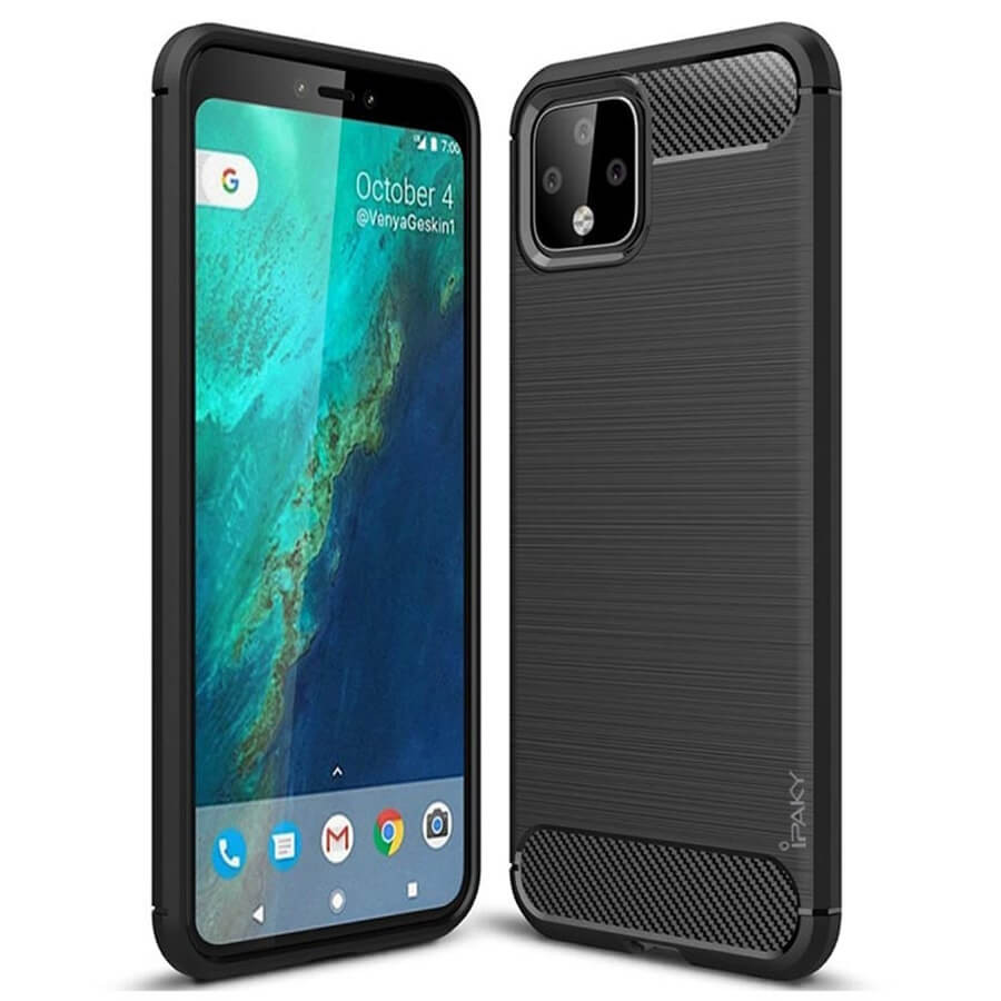 TPU чехол iPaky Slim Series для Google Pixel 4 XL (Черный)