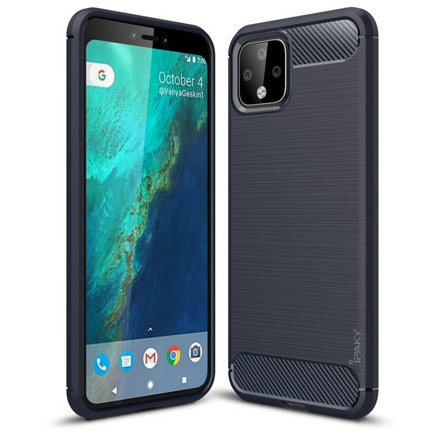 TPU чехол iPaky Slim Series для Google Pixel 4 XL (Синий)