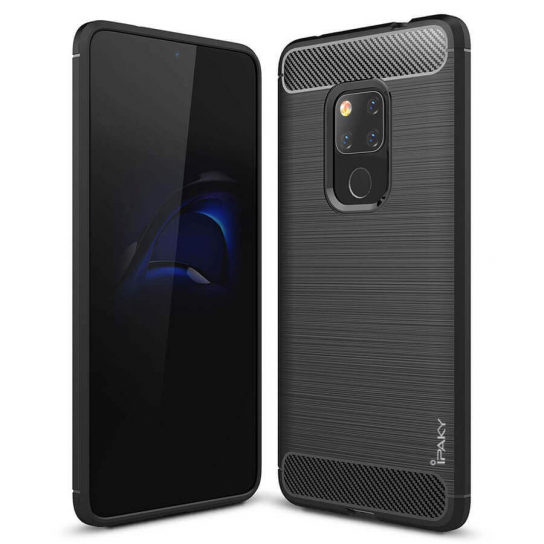 TPU чехол iPaky Slim Series для Huawei Mate 20 (Черный)