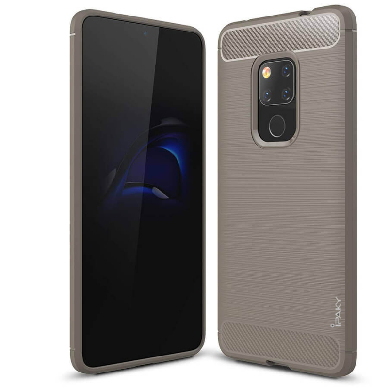 TPU чехол iPaky Slim Series для Huawei Mate 20 (Серый)