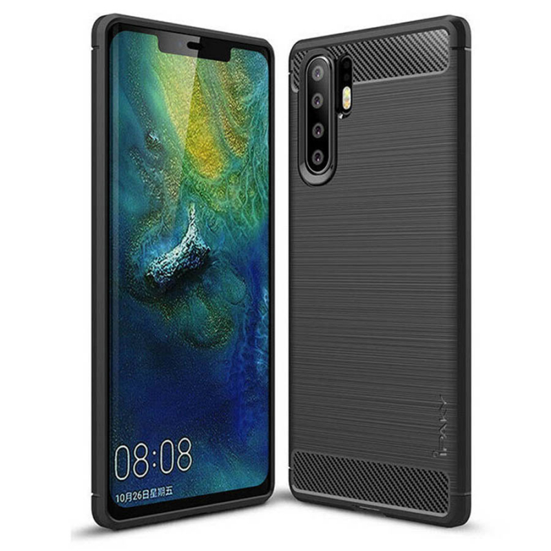 TPU чехол iPaky Slim Series для Huawei P30 Pro (Черный)