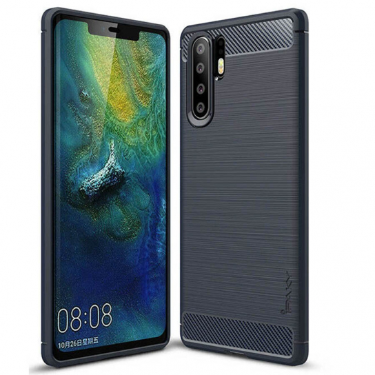 TPU чехол iPaky Slim Series для Huawei P30 Pro (Синий)