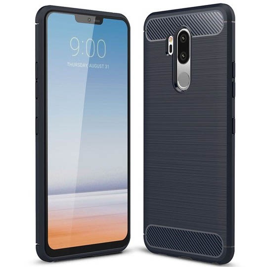TPU чехол iPaky Slim Series для LG G7+ / LG G7 ThinQ (Синий)