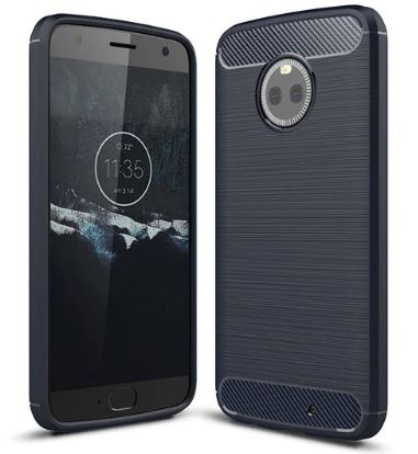 TPU чехол iPaky Slim Series для Motorola Moto X4 (Синий)