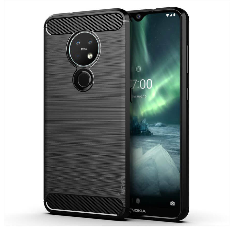 TPU чехол iPaky Slim Series для Nokia 6.2 / 7.2 (Черный)