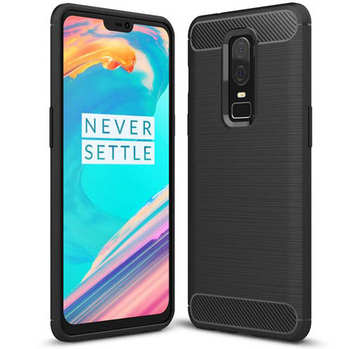 TPU чехол iPaky Slim Series для OnePlus 6 (Черный)