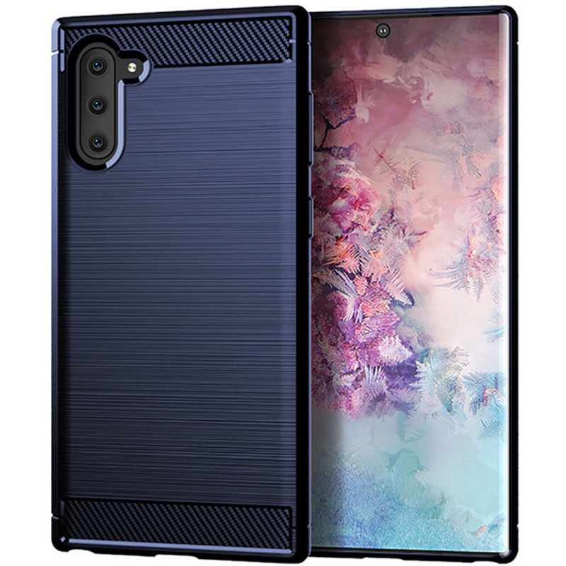 TPU чехол iPaky Slim Series для Samsung Galaxy Note 10 (Синий)